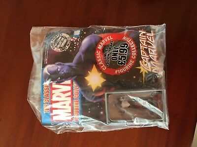 The Classic Marvel Figurine Collection Special - Captain Marvel Ltd Variant Rare
