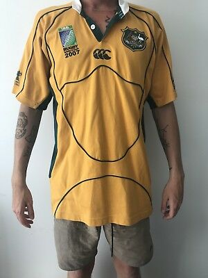Rugby World Cup 2007 Wallabies Jersey