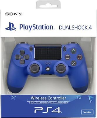 Sony Official Dualshock 4 Controller (Blue) (PS4) V2 Brand New & Sealed