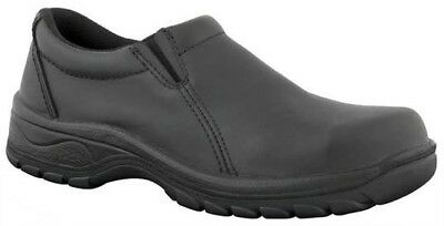 Oliver 49-430 Ladies Safety Shoes Steel Toe Black Size 35 *NEW*