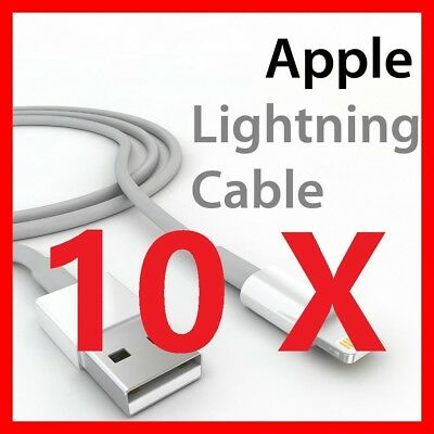 USB Lightning Charging Data Sync Cable 4 Apple iPad iPod iPhone 5 6 s 7 8 Plus X