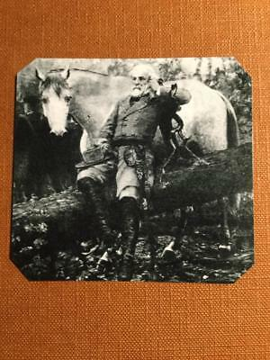 General Robert E Lee and Horse Traveler Historical Museum Quality tintype C067RP