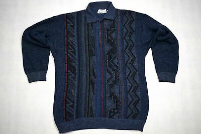 Strick Pullover Sweatshirt Sweater Knit Pullover 90er Vintage Pucci Wolle ca L