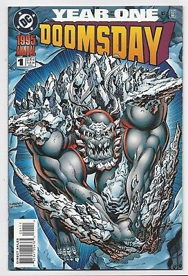Dc Comics: Superman Doomsday Annual #1 One-Shot (1995) Postage Discount!!!