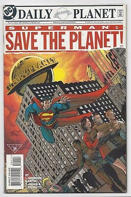 Dc Comics: Superman: Save The Planet! #1 - One-Shot (1998) Postage Discount!!!