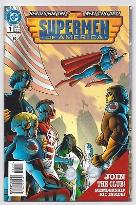 Dc Comics: Superman Supermen Of America #1 One-Shot (1999) Postage Discount!!!