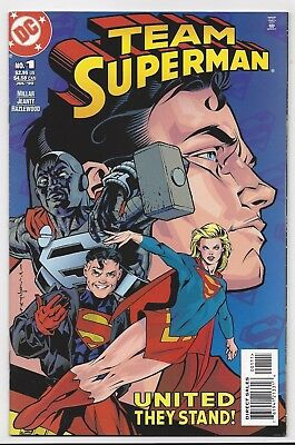 Dc Comics: Team Superman #1 One-Shot (1999) Postage Discount!!!