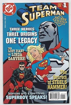 Dc Comics: Team Superman #1 Secret Files & Origins (1998) Postage Discount!!!