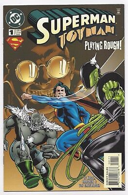 Dc Comics: Superman Toyman Playing Rough #1 One-Shot (1996) Postage Discount!!!