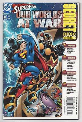 Dc Comics: Superman Our Worlds At War #1 Secret Files & Origins (2001)