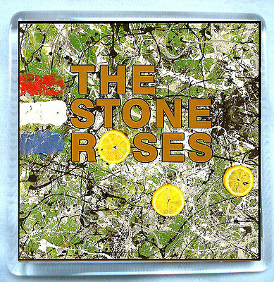 The Stone Roses- Stone Roses Fridge Magnet Ian Brown