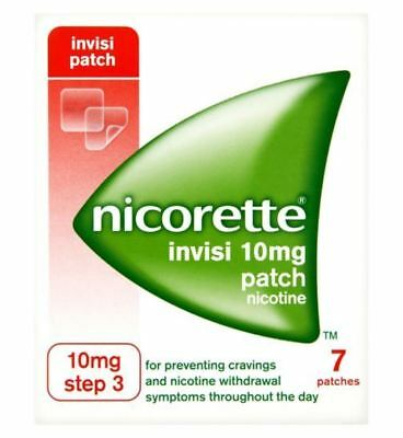 Nicorette Invisi 10mg Patch - 7 patches