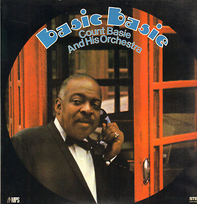 Count Basie & Orch.-Lp- Basic Basie- Org. Mps-Stereo-Germany-1969- Unplayed !