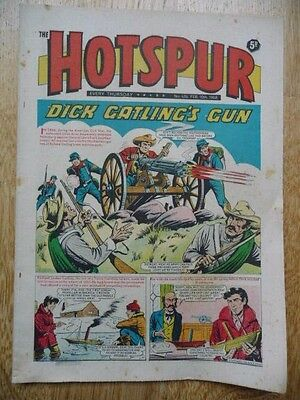 Vintage Comic The Hotspur - No. 434, Feb 10th 1968