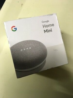 Google HOME MINI GA00210-US Chalk ****neW** Free & Fast Shipping👍🏽✅👍🏽✅👍🏽✅✅