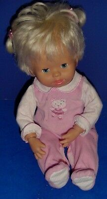 2006 Mattel Little Mommy Baby Gotta Go Potty Interactive Doll Works 2Cute