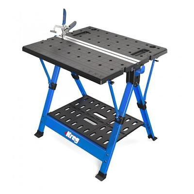 """NEW KREG TOOL KWS1000 MOBILE PROJECT CENTER w/ BENCH CLAMP, 27¾"""" x 31½"""""""