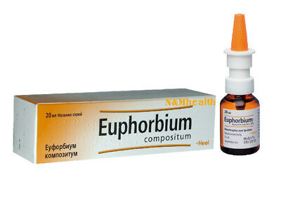 Euphorbium Nasal Spray 20ml