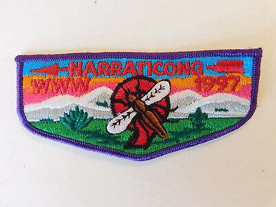 Boy Scout Order Of The Arrow Narratcong 1997 OA Patch