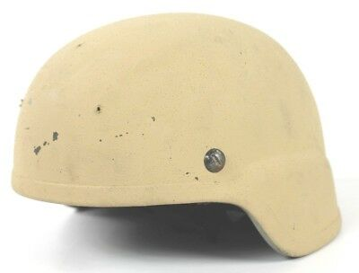 ACH Advanced Combat Helmet Kevlar 3 Hole Drilled MICH 2000 MARSOC USMC NOROTOS