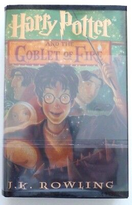 Large Print ~ HARRY POTTER AND THE GOBLET OF FIRE  by J.K. Rowling ~ BRAND NEW!