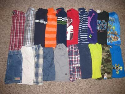 Toddler boy Clothes 5T  Summer Clothes Outfit Lot 20 pieces.