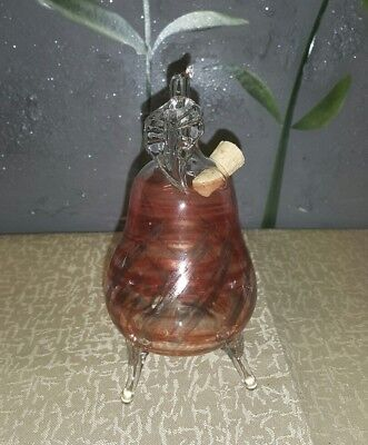 Glas - Bartholmes GERMANY Glass PEAR Blown glass Christmas Ornament - H: 14 cm
