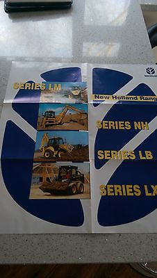 Ford New Holland LM NH LB construction range poster