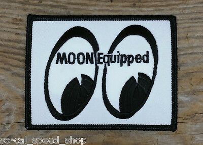Moon Equipped Vtg Style Tank Logo Patch Drag Racing Gasser Rat Hot Rod Nhra Scta