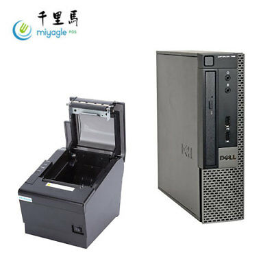 Dell Optiplex USFF Intel i5 & Printer POS System Liquor / Retail Point of Sale