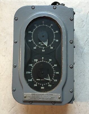 U.s.s Wabash  Wind Speed And Direction Indicator .