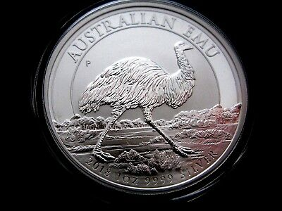 2018 Australia 1oz .9999 Silver Emu, Pre-Sale: **30,000 MINTED ** **SOLD OUT**