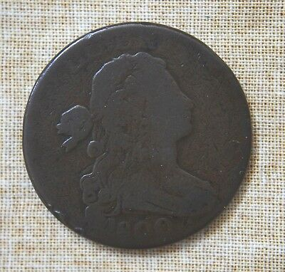 1800 Draped Bust Cent - About Good Details