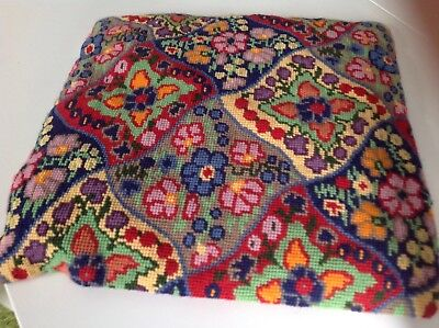 tapestry seat cover12in x12in