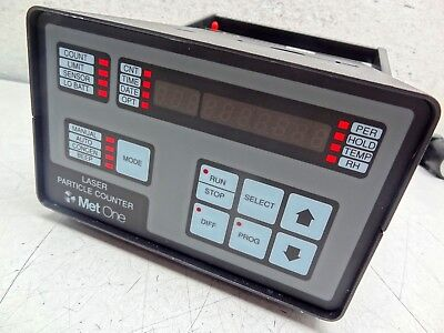 Met One 237A-.5-.1-1 CE Portable Benchtop 0.5um 0.1CFM Laser Particle Counter