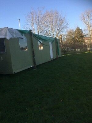 portacabin34ft by 9ft with electric sockets and lights multi use