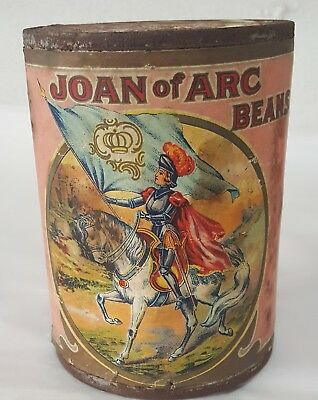 1910's Circa Joan of Arc Kidney Beans Can