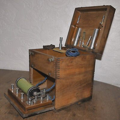 Vintage Induction coil / electric shocking machine