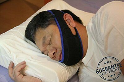 Sleep & Wellness NEW Premium Anti Snoring Fully Adjustable Chin Strap Sleeping
