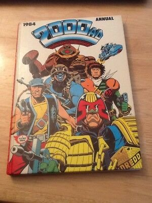 2000AD ANNUAL 1984-unclipped and in good condition