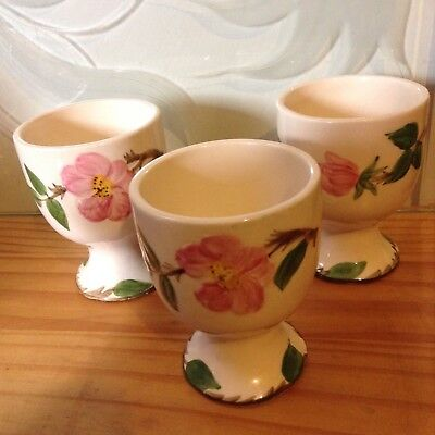 Franciscan Ware Desert Rose Egg Cups (Lot Of 2) Made In USA