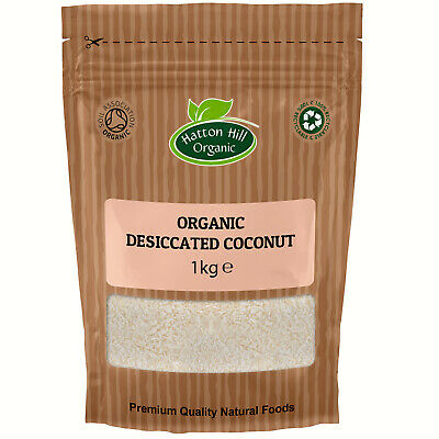 Organic Desiccated Coconut Certified Organic