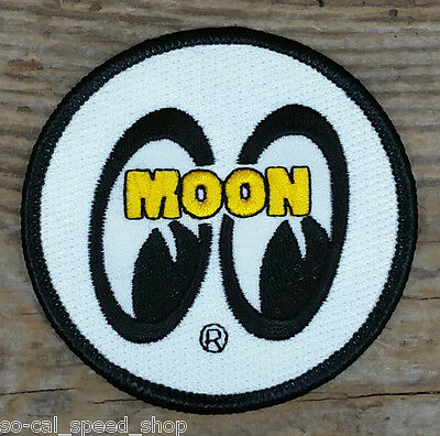 Moon Equipped Vtg Style Tank Logo Patch Drag Racing Gasser Hot Rod Bonneville Vw