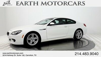 2015 BMW 6-Series Base Coupe 2-Door 2014 BMW 640I M-SPORT, LOADED, LUXURY SEATS, 1 OWNER, BMW LEASE RETURN