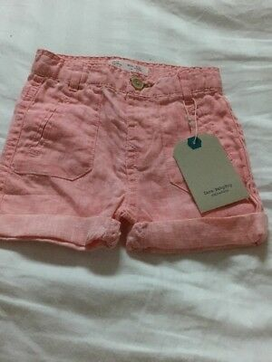 Baby Boys ZARA shorts 6-9 M New Tags LOW POSTAGE
