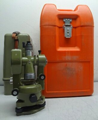 Kern Swiss DKM2-A Surveyor's Industrial Theodolite w/ Both Original Travel Cases