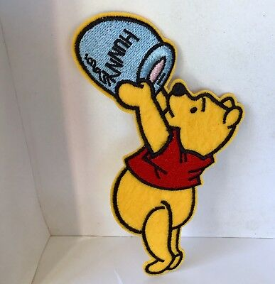 Disney Winnie The Pooh Bear Embroidered Appliqué Patch Sew Or Iron On #20