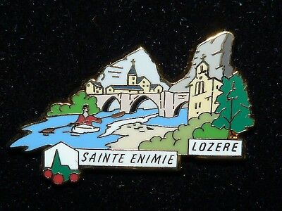 Pin's les plus beaux villages de France (Sainte Enimie - Lozère)