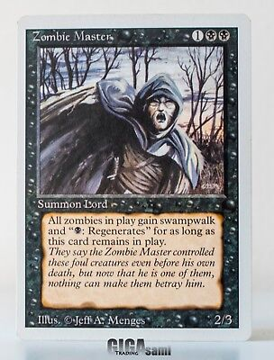 Zombie Master / Zombiemeister   Revised / 4th MtG   NM   ENG