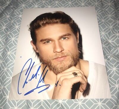 Charlie Hunnam Hand Signed 10x8 photo Sons Of Anarchy